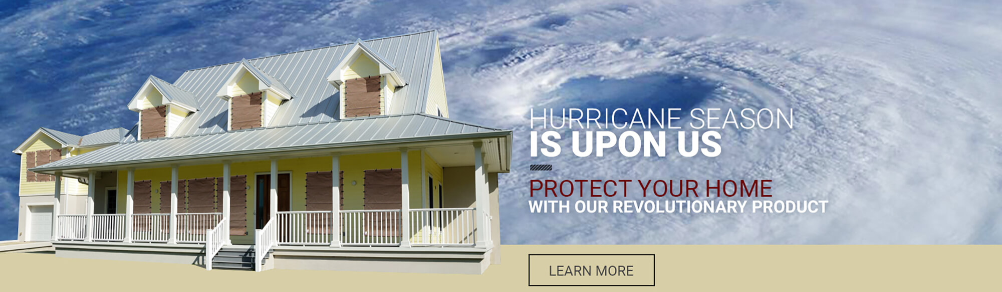 Hurricane Fabric - Hurricane Protection - Hurricane Storm Panels